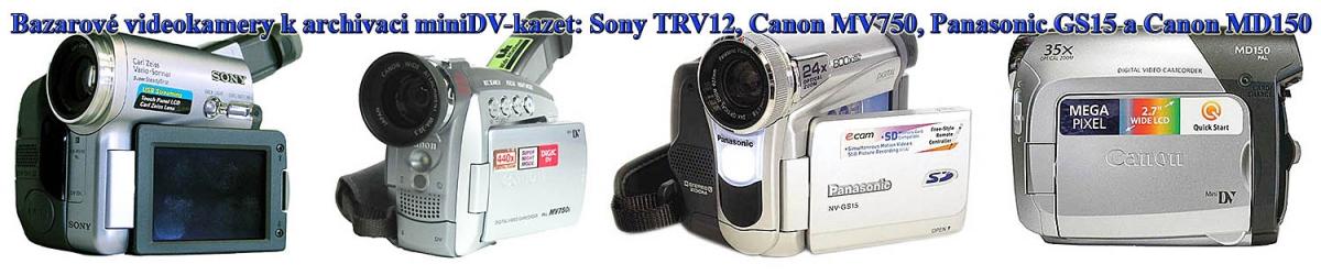 Bazarové videokamery ze současné nabídky naší firmy