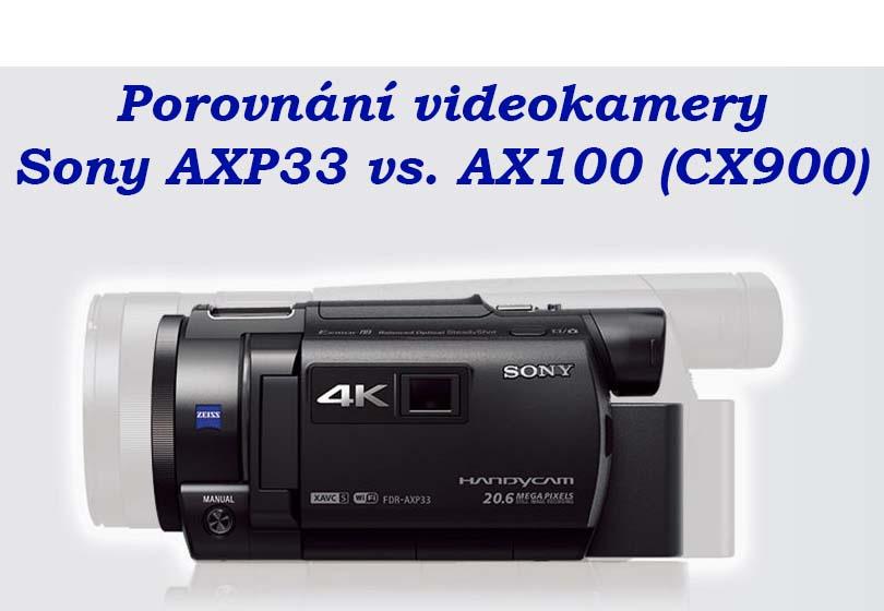 Porovnání velikostí AX100 a APX33