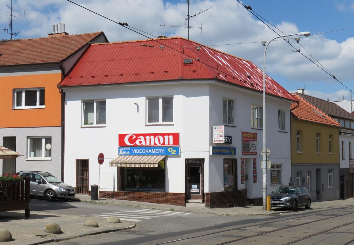 Prodejna firmy VIDEOKAMERY CZ v Brně