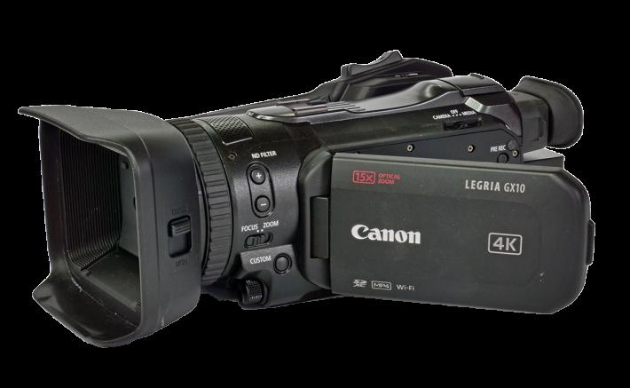 Videokamera Canon Legria GX10 - perspektiva