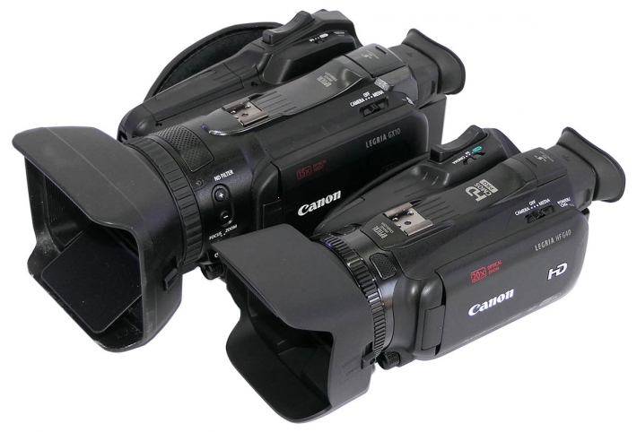 Videokamery Canon HF G40 a GX10: srovnání