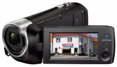 Videokamera Sony HDR-PJ410 s otevřeným LCD