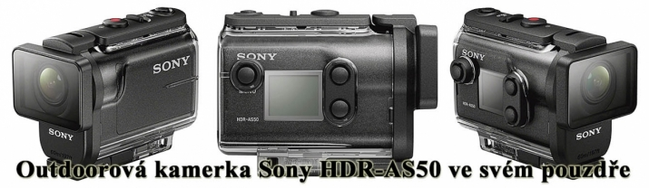 Videokamera Sony HDR-AS50 s pouzdrem: outdoor No1